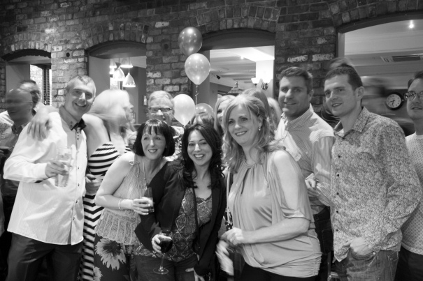 Andy Lacey's birthday party